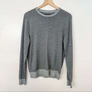 JCP merino wool striped sweater